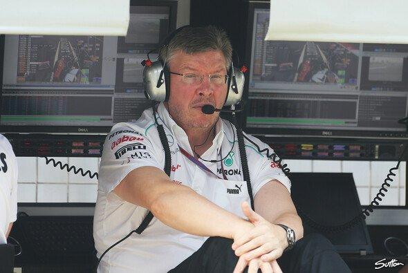 Mit Mercedes hat Titelsammler Ross Brawn noch keine WM gewonnen
