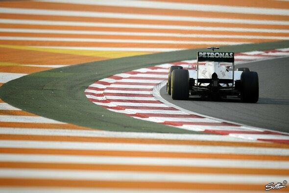 Nico Rosberg erzielte im 2. Training die viertbeste Zeit