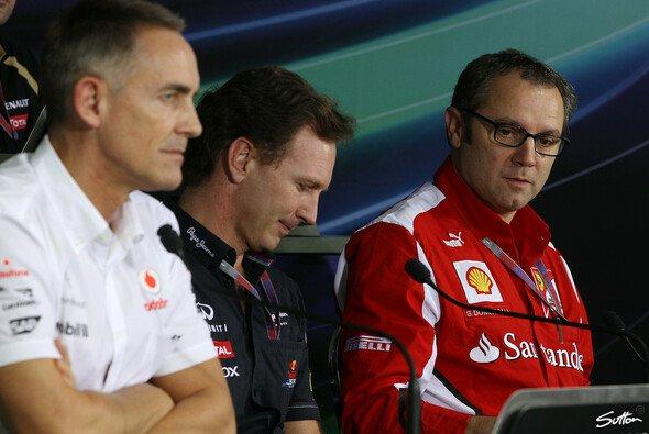 Stefano Domenicali weiß, Ferrari muss 2013 von Beginn an vorne dran sein