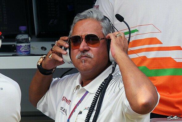 Vijay Mallya will 2014 unbedingt Podestplätze einfahren