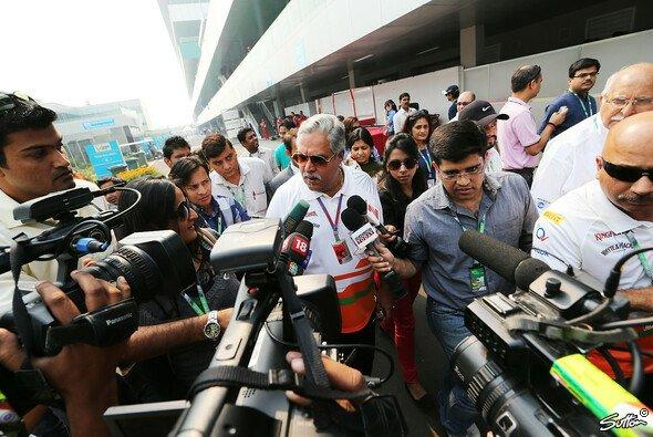Vijay Mallya ärgern Berichte in den indischen Medien aufs Äußerste