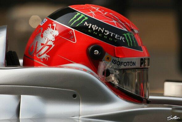 Michael Schumacher auf Abwegen: Startplatz 14 in Indien