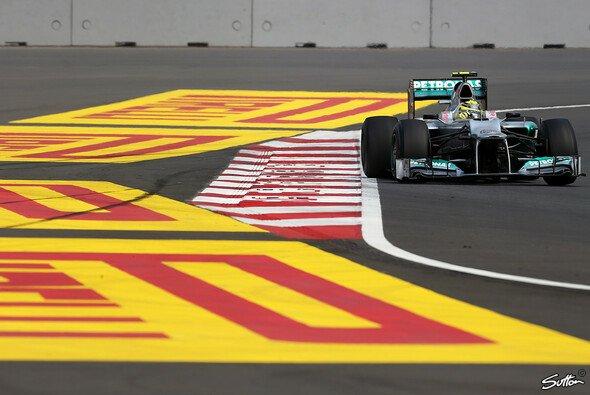 Nico Rosberg startet beim Indien GP vom zehnten Startplatz