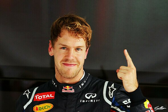 Sebastian Vettel holte die 35. Pole seiner F1-Karriere - Foto: Sutton