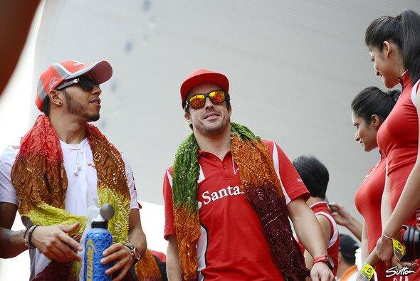 Lewis Hamilton und Fernando Alonso loben sich gern mal gegenseitig