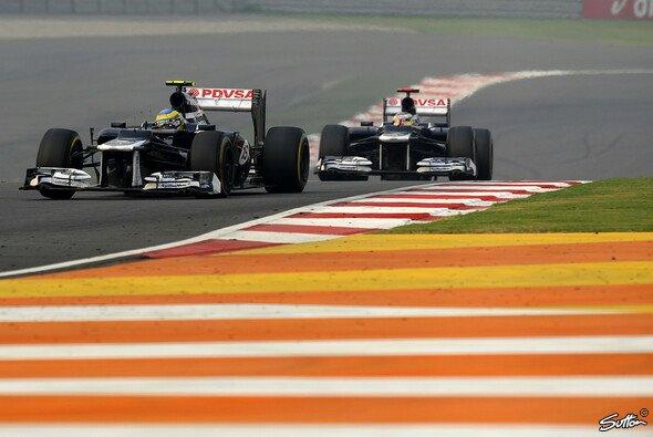 Pastor Maldonado und Bruno Senna beendeten das Rennen in den USA auf den Rängen neun und zehn