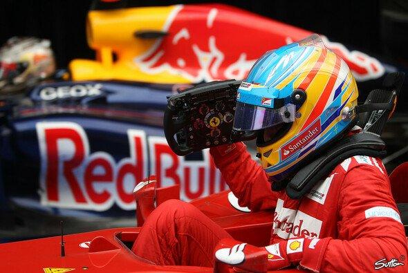 2012 blieb die Krönung versagt - Red Bull dafür aber immer in Alonsos Visier