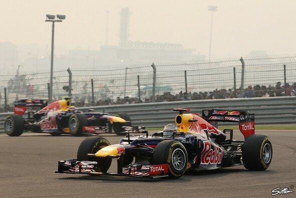 Sebastian Vettel feierte in Indien seinen vierten Sieg in Folge
