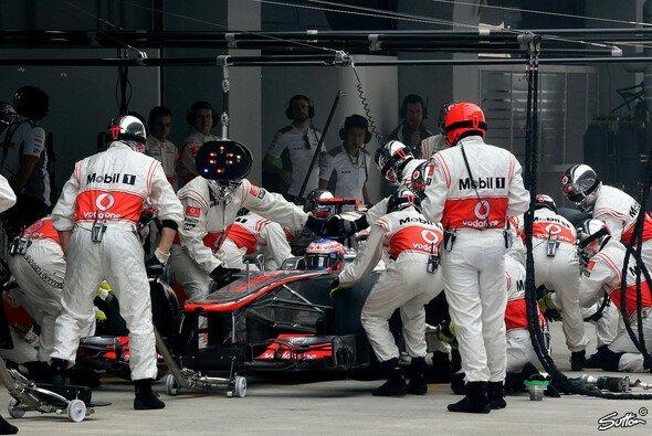 In Hockenheim stellte McLaren einen neuen Rekord auf