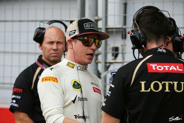 Kimi Räikkönen und Lotus erwarten 2013 eine Steigerung - Foto: Sutton