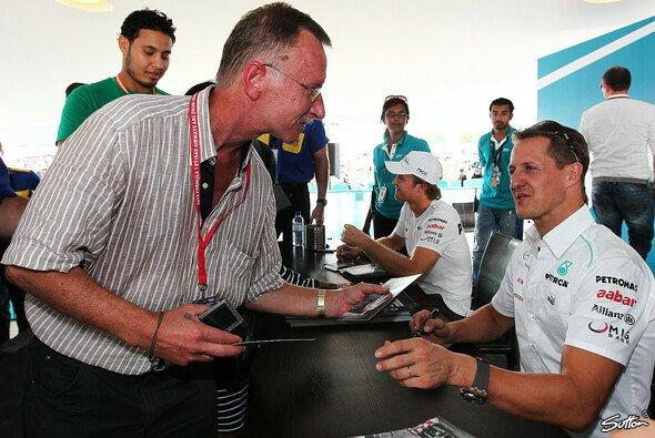 Michael Schumacher verfügt noch immer über viele Fans