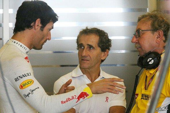 Alain Prost weilt an diesem Wochenende in Abu Dhabi