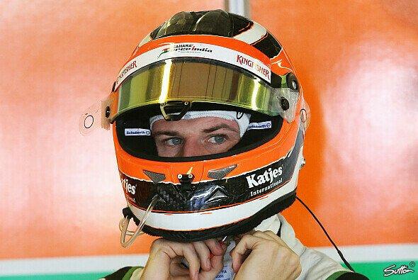 Nico Hülkenberg bestreitet sein vorletztes Rennen für Force India