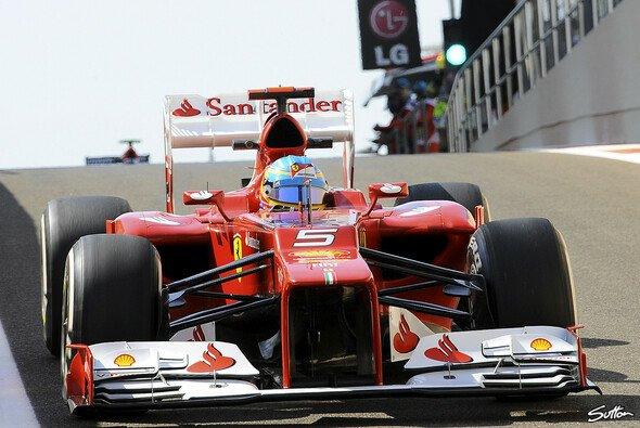Im Qualifying zum Abu Dhabi GP landet Fernando Alonso auf Rang sieben