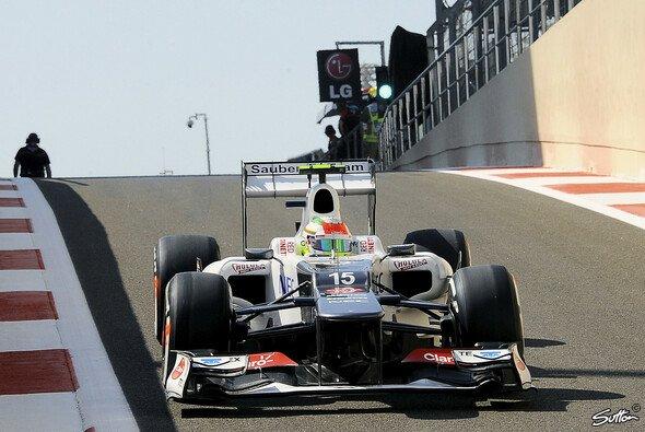Sergio Perez wurde von den Stewards bestraft