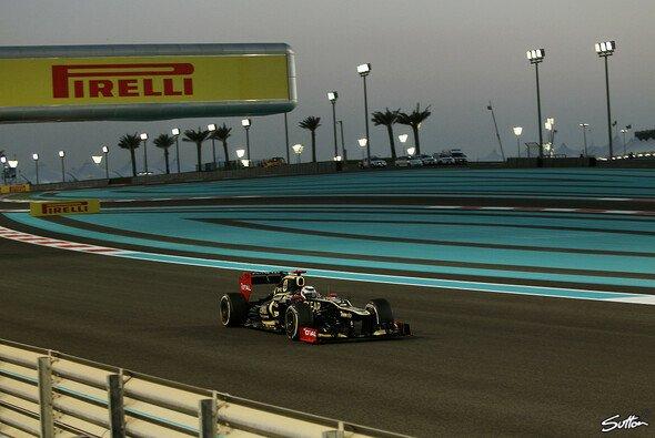 Kimi Räikkönen hat in Abu Dhabi einiges vor