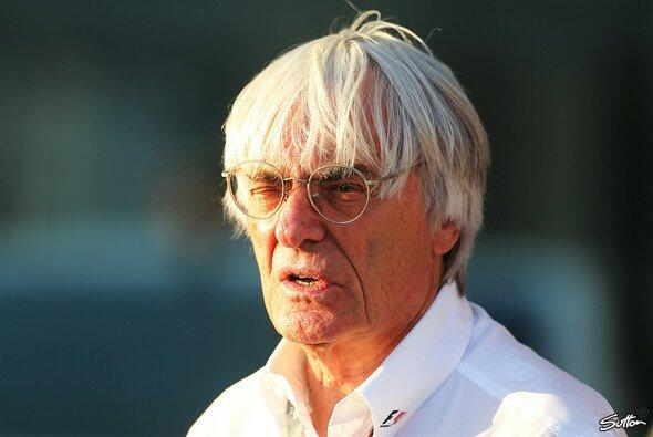 Bernie Ecclestone ist der Geschäftsführer der Formel-1-Holding SLEC