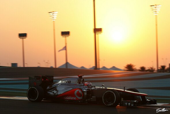 Die untergehende Sonne nahm seine Pace gleich mit: Pech für Jenson Button