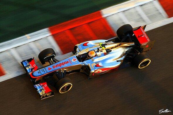 Hamilton steht in Abu Dhabi auf Pole