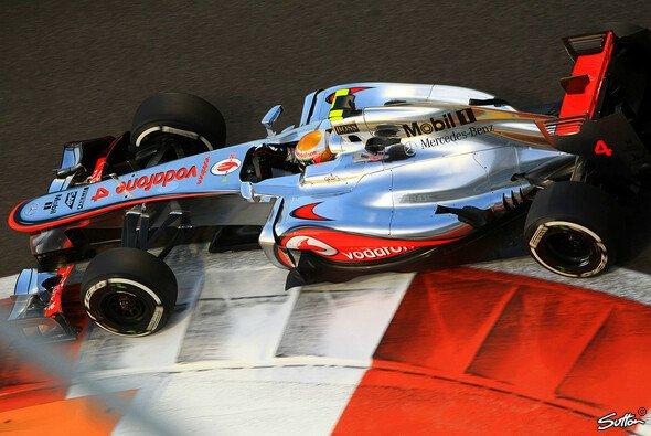 Lewis Hamilton schnappte sich die Bestzeit