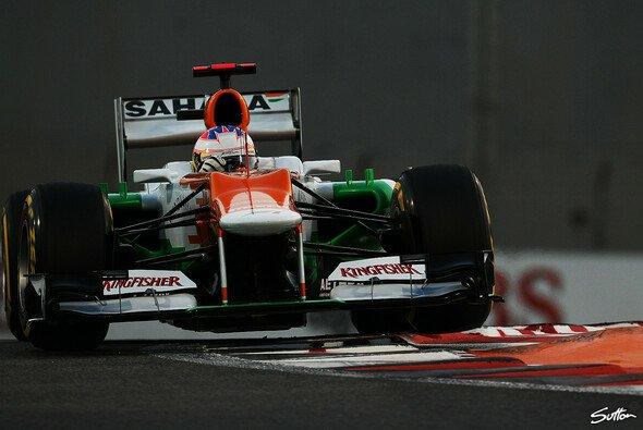 Nach drei Nullrunde in Folge gibt es für Paul di Resta in Abu Dhabi wieder Punkte