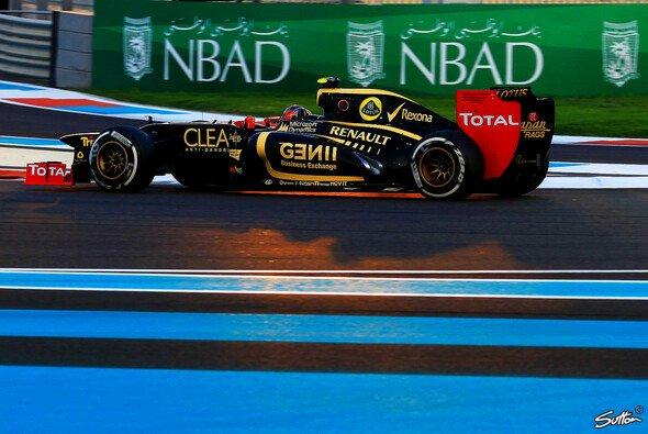 Romain Grosjean wollte sich raushalten, wurde aber reingezogen