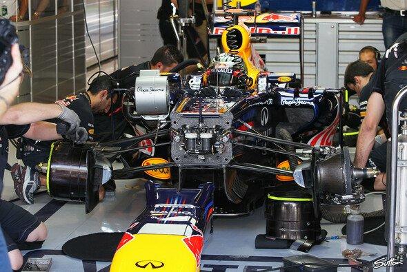 Vettel hatte kein Tropfen Benzin im Tank