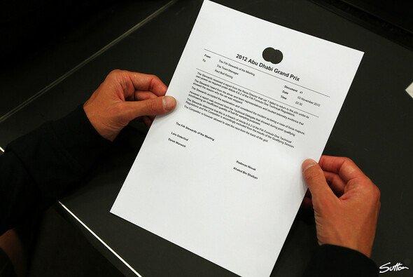 Ein Dokument, wie es dramatischer nicht sein könnte