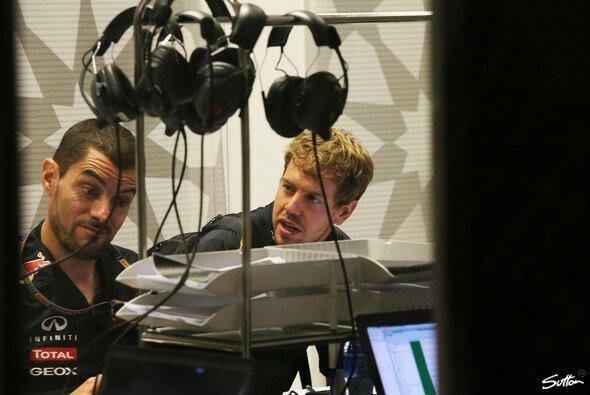 Sebastian Vettel glaubt noch an einen guten Sonntag in Abu Dhabi