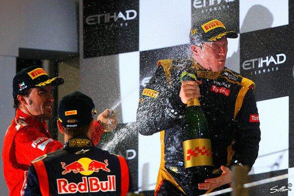 Das Rennen war in Abu Dhabi nichts für schwache Nerven