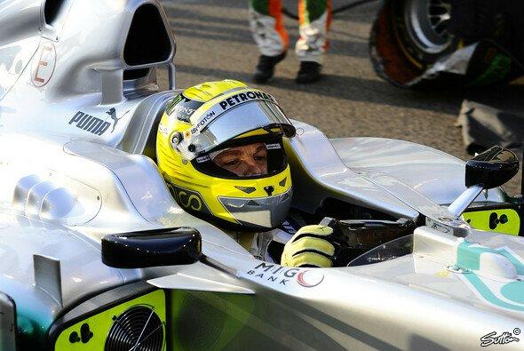 Nico Rosberg hofft auf 2013