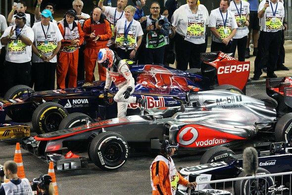Am Ende reichte es knapp nicht zum Podium: Jenson Button wusste um die Gründe