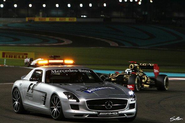 Das Safety Car war in Abu Dhabi nicht zu Sebastian Vettels Nachteil