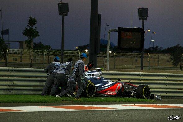 Lewis Hamilton ging in Abu Dhabi leer aus