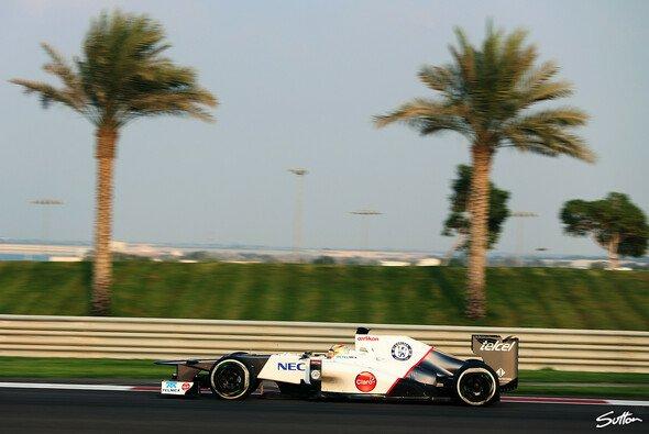 Robin Frjings absolvierte 78 Runden in Abu Dhabi