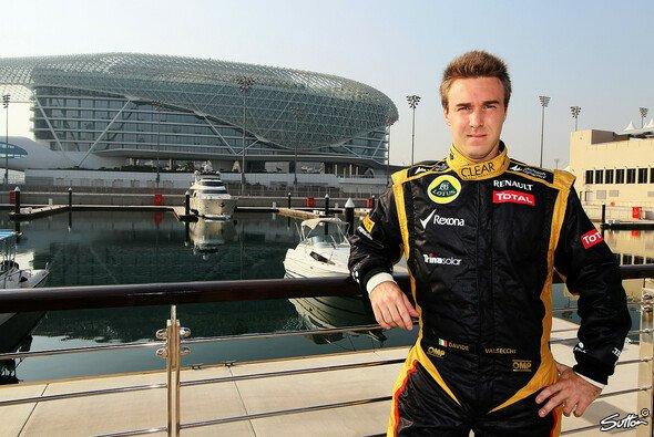 Davide Valsecchi wird dritter Fahrer bei Lotus
