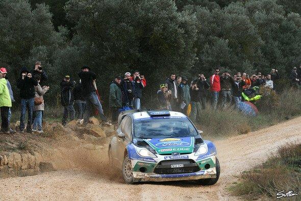 Jari-Matti Latvala liegt auf dem dritten Rang