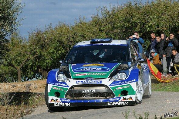Jari-Matti Latvala fuhr bei seiner letzten Rallye mit Ford auf den zweiten Rang