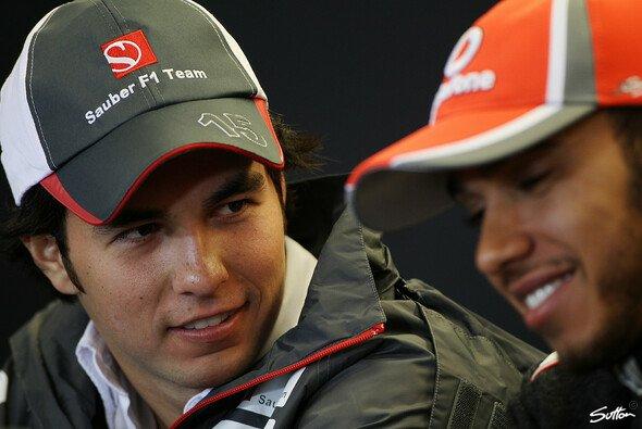 Pérez will sich an Hamilton orientieren