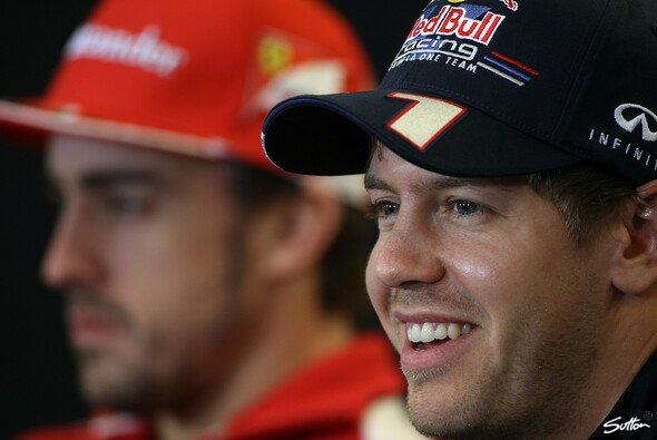 Sebastian Vettel respektiert Fernando Alonso