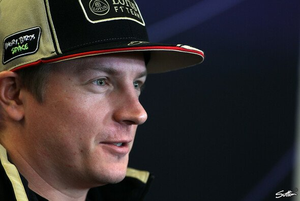 Kimi Räikkönen will sich nicht einmischen - aber doch gewinnen - Foto: Sutton