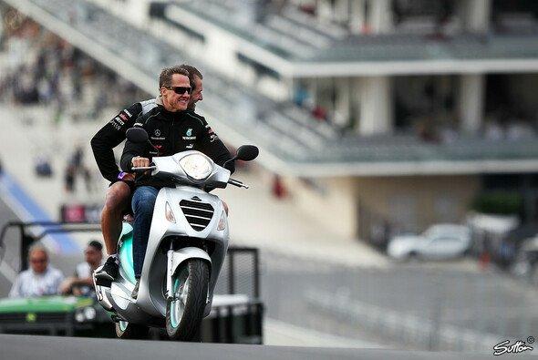 Michael Schumacher gefällt die Achterbahnfahrt in Austin
