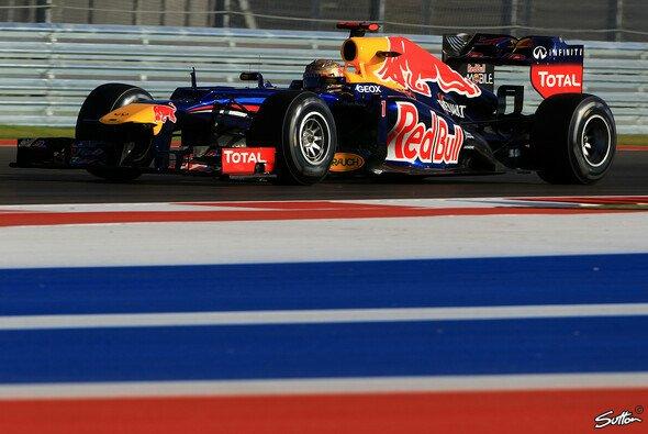 Sebastian Vettel schnappte sich die erste Bestzeit in Austin