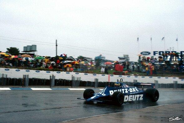 Über die Jahre in so einigen Autos verteten - jedoch nur einmal bei einem offiziellen Grand Prix