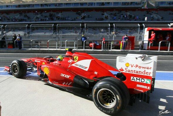 Ferrari hatte beim Qualifying Probleme mit dem Reifenumgang