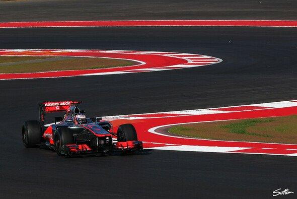 Jenson Button will die ersten Rundenzeiten nicht überbewerten
