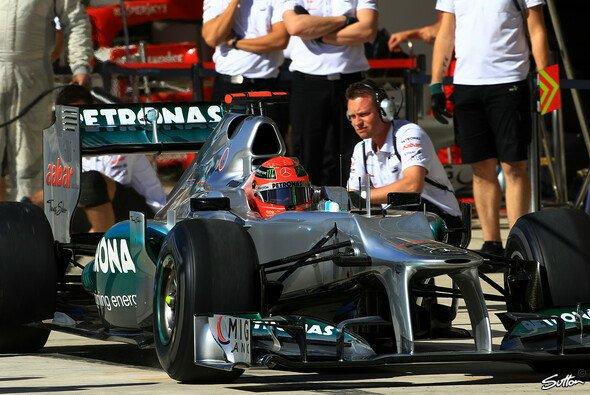 Michael Schumacher startet den US GP von Rang fünf