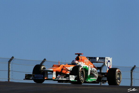 Schafft Force India 2013 den Sprung aufs Podium? - Foto: Sutton