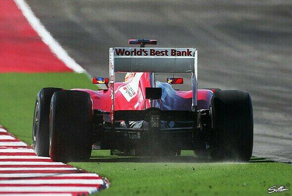 Fernando Alonso war mit dem neuen Diffusor nicht wirklich besser dran