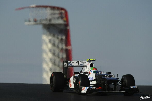 Sergio Perez kam ungeschoren davon